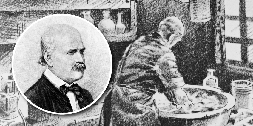 Ignaz Semmelweis – de louco à pioneiro nos procedimentos antissépticos das mãos