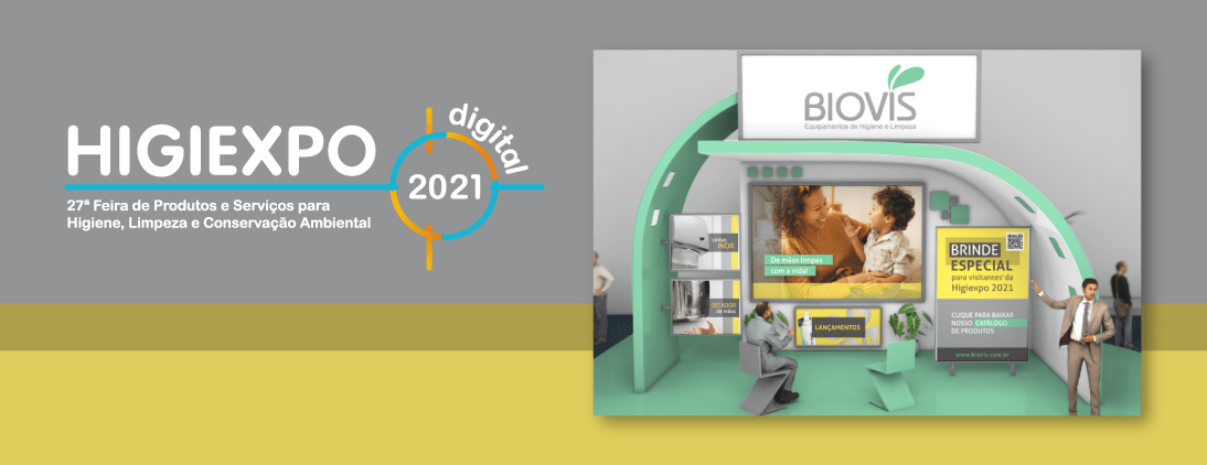 Visite o stand da Biovis na Higiexpo Digital 2021